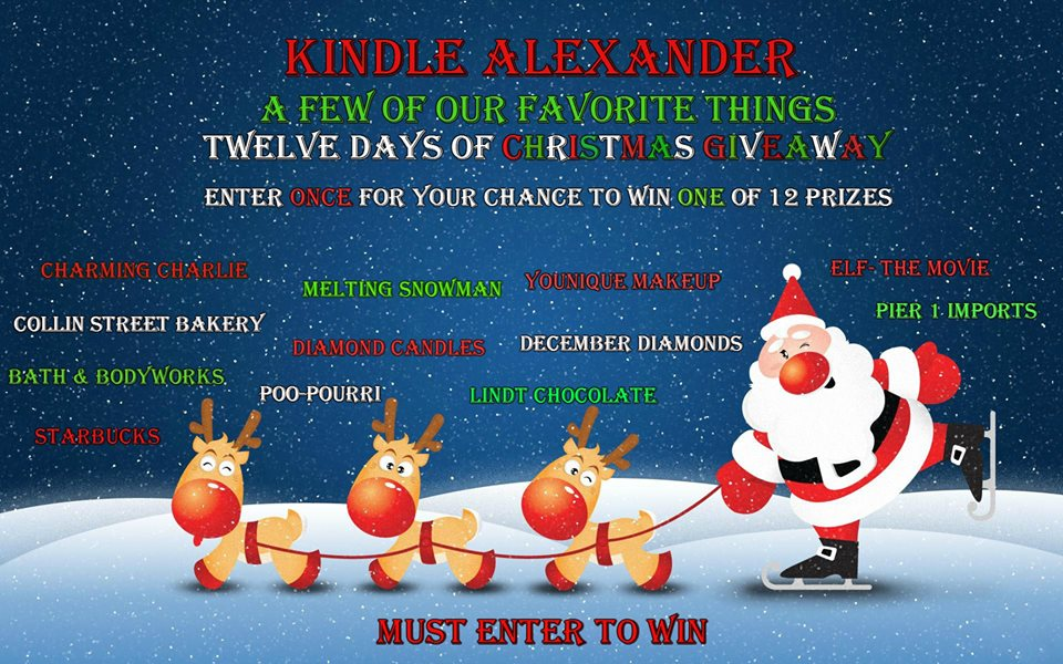 The Twelve Days of Christmas Giveaway